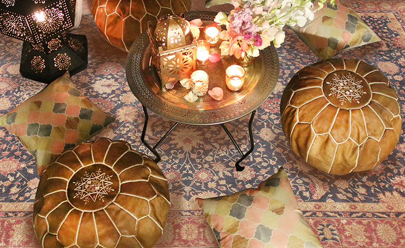 Moroccan Poufs Now In Stock