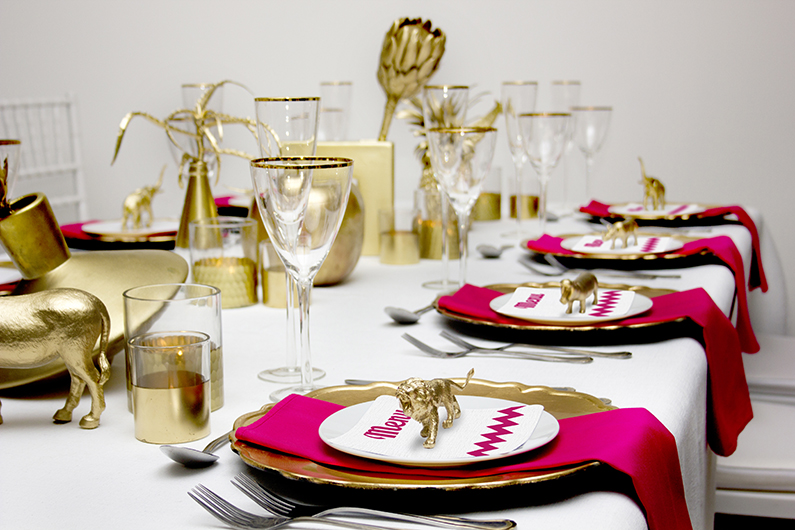 AFRICAN GOLD WEDDING TABLE – TAKE 2